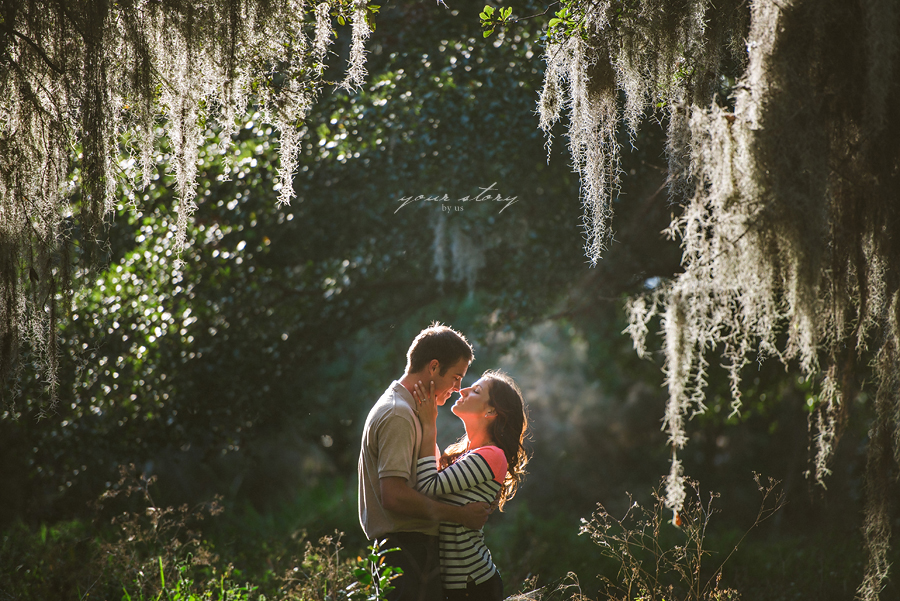 Alayna Amp Brandon S Philippe Park Engagement Session Tampa Wedding Photographer Your Story By