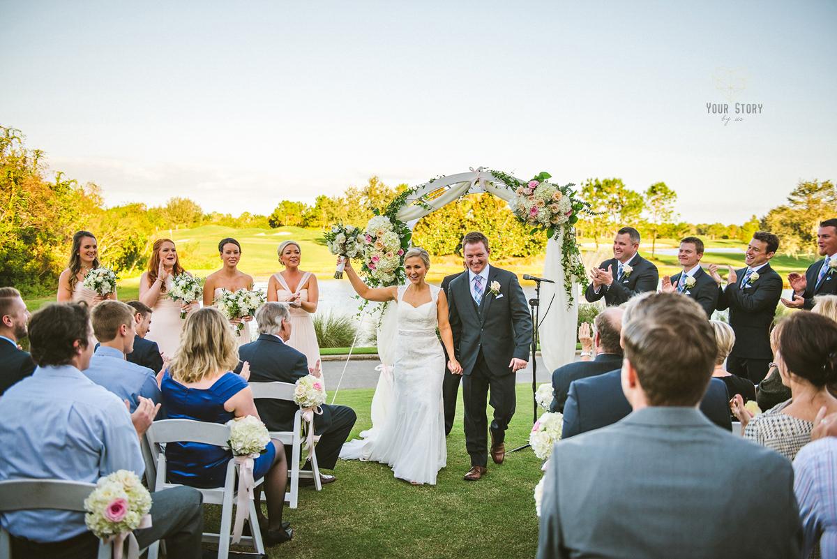 Lake club lakewood ranch wedding