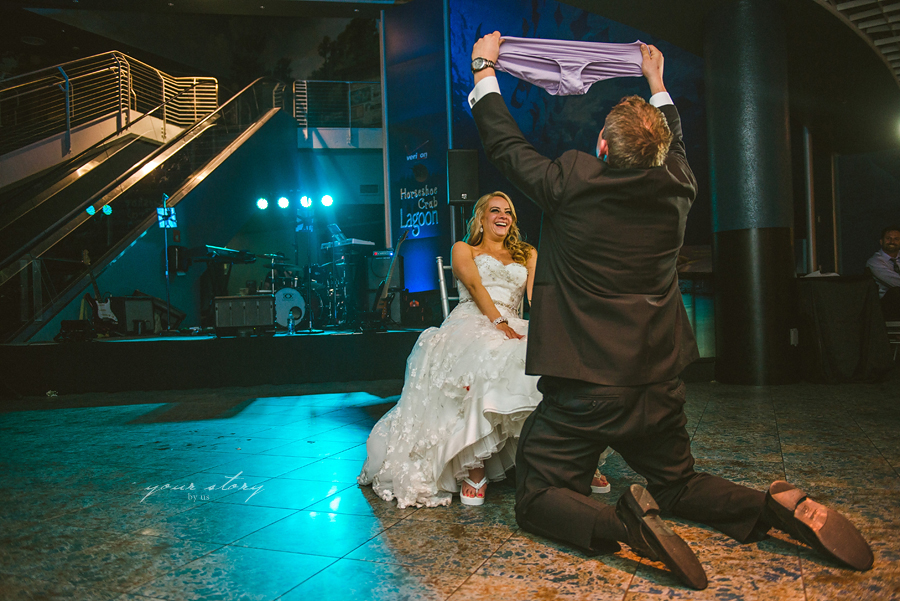 Brooke Denny 39 S Florida Aquarium Wedding Tampa Wedding