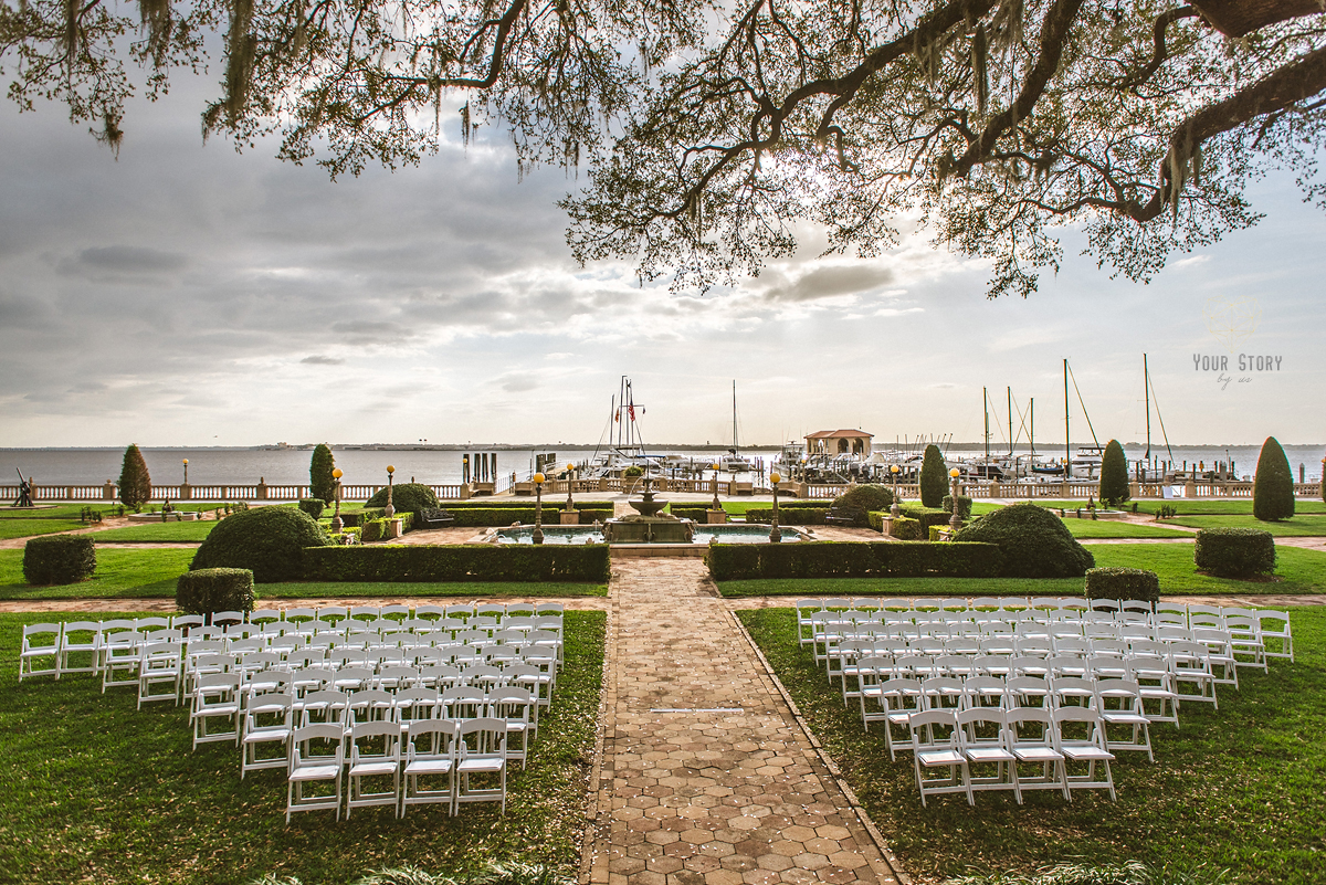 Tampa Bay Watch Wedding