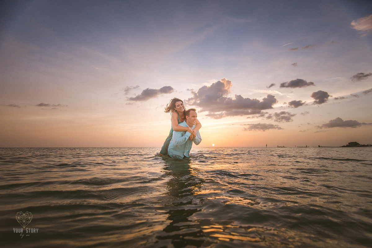 Emely Amp Brendans Honeymoon Island Engagement Session