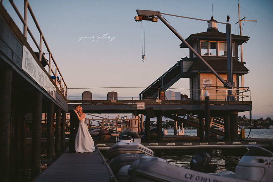 Galveston yacht club wedding