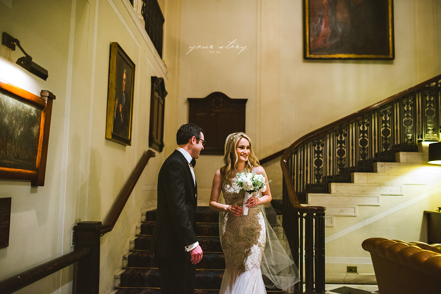 The Yale Club of New York City Wedding Photography - Grand ... |Yale Club Wedding