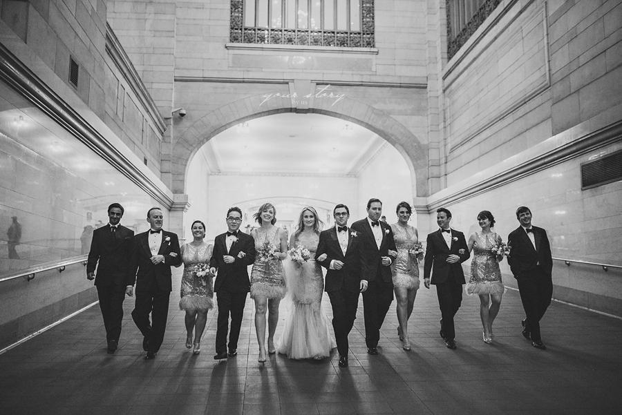 Andre Maier Photography | Julia and Evan's elegant wedding ... |Yale Club Wedding