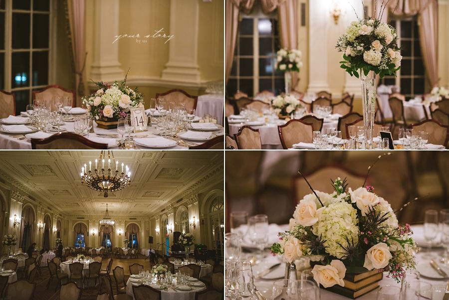 Yale Club Wedding : Barrett and Stephen : New York, NY ... |Yale Club Wedding
