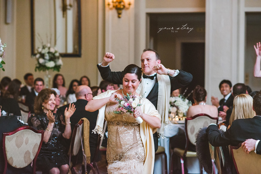 The Yale Club Wedding | Maureen and Ryan | NYC Wedding ... |Yale Club Wedding