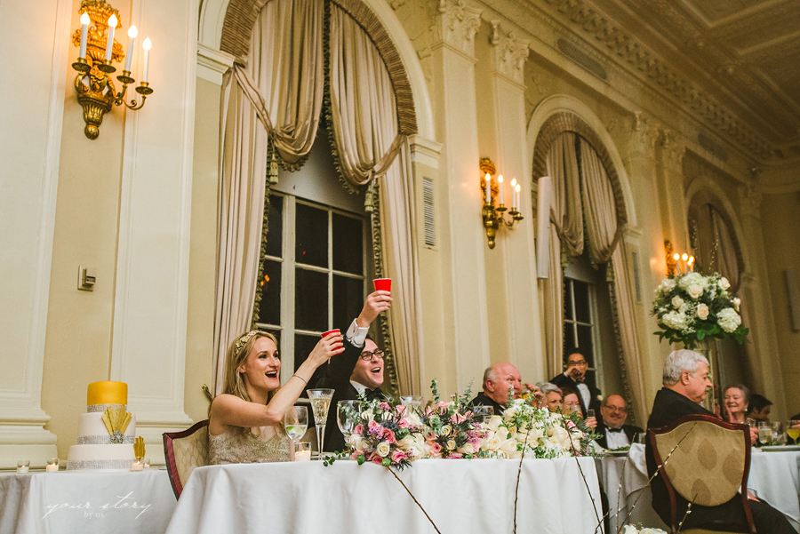 Yale Club Wedding Photos | Picturesque Rooftop Views of ... |Yale Club Wedding
