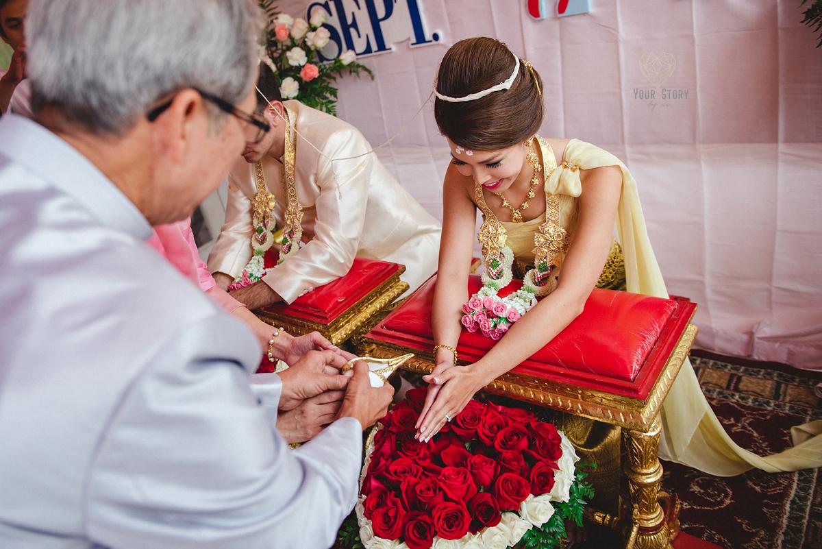 Thunya Amp Brandons Thai Wedding Ceremony