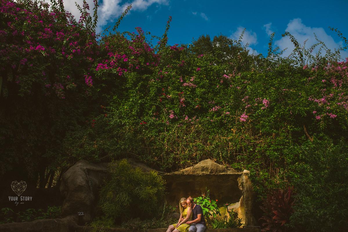 Vanessa & Blair\'s Sunken Gardens Engagement Session | Tampa Wedding ...
